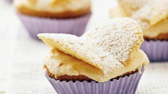 Rezept: Schmetterlings-Muffins