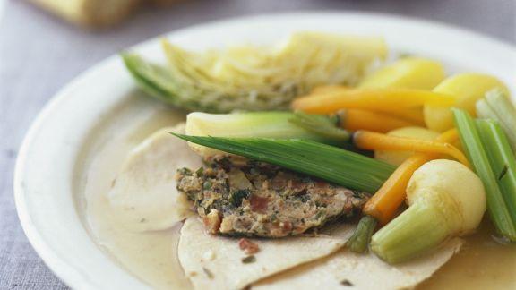 Rezept: Schmor-Hähnchen mit Gemüse