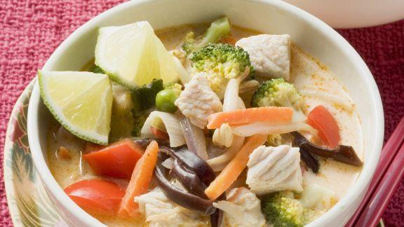 Rezept: Schnelle Suppe auf Thai-Art