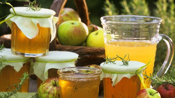Rezept: Schnelles Apfelgelee