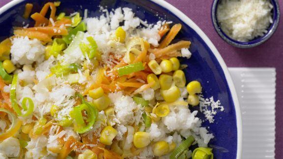 Rezept: Schneller Gemüse-Risotto