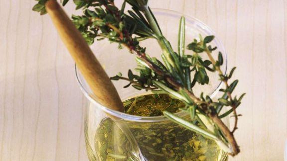 Rezept: Schnitzel mit Kräutern der Provence
