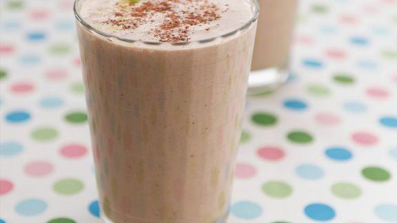 Rezept: Schoko-Bananen-Shake mit Haselnuss