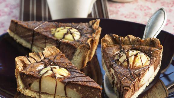 Rezept: Schoko-Birnen-Kuchen