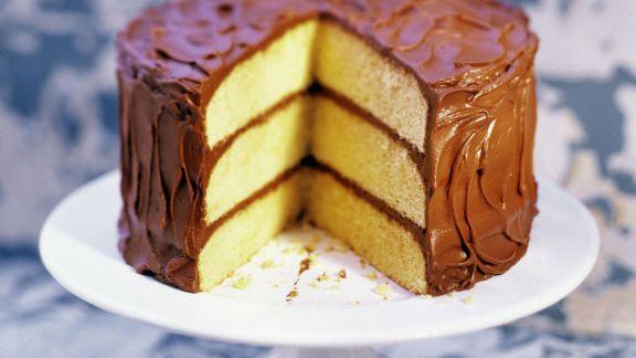 Rezept: Schoko-Biskuit-Torte