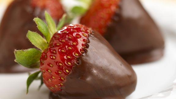 Rezept: Schoko-Erdbeeren