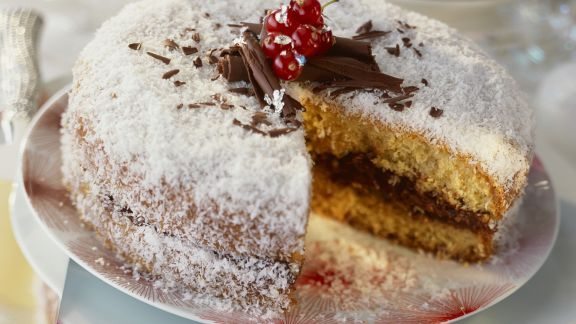 Rezept: Schoko-Kokos-Torte