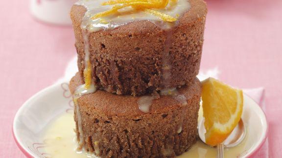 Rezept: Schoko-Muffins mit weißer Schokolade