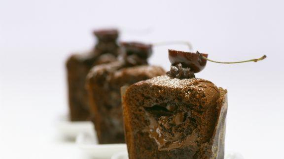 Rezept: Schoko-Nutella-Muffin