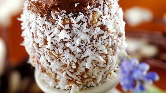 Rezept: Schoko-Trüffel mit Kokos