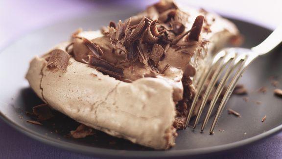 Rezept: Schokoladen-Baiser-Kuchen