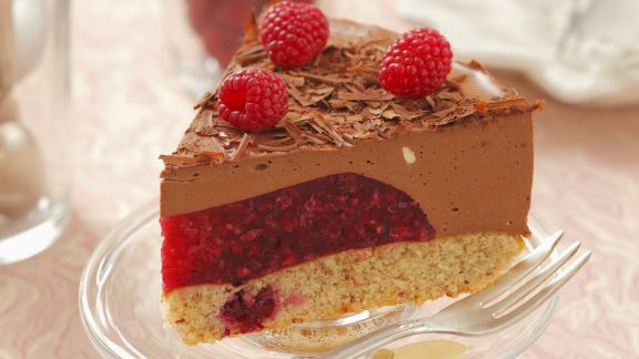Rezept: Schokoladen-Himbeer-Torte