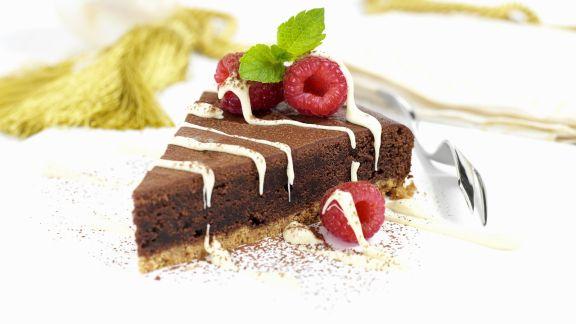 Rezept: Schokoladen-Karamell-Kuchen auf englische Art