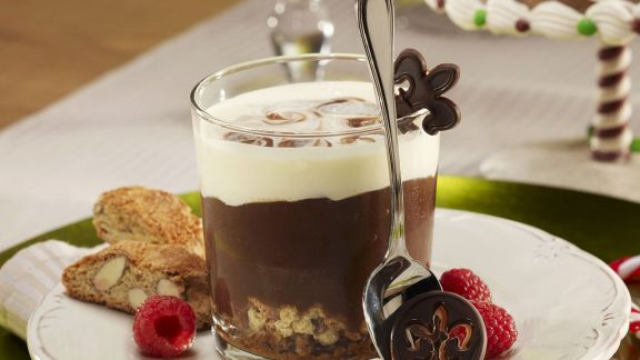Rezept: Schokoladencreme mit Cantuccini