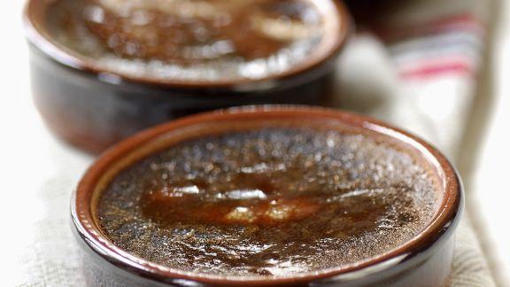 Rezept: Schokoladencreme mit Karamellkruste