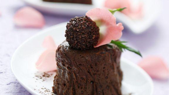 Rezept: Schokoladencreme mit Praline