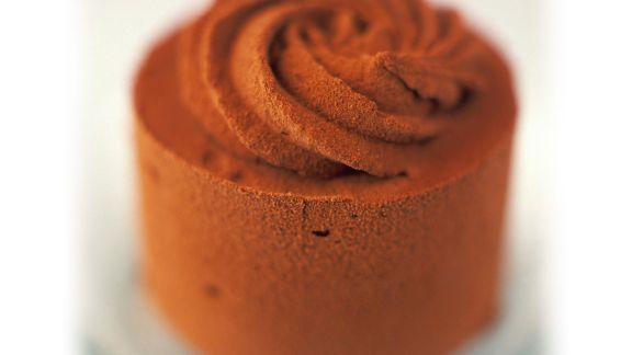 Rezept: Schokoladeneis-Törtchen