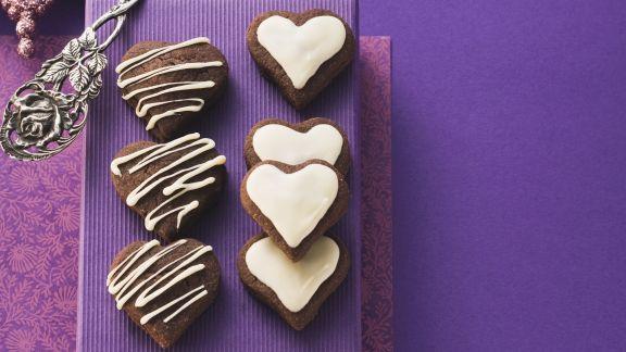 Rezept: Schokoladenherzen