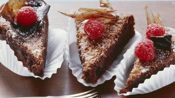 Rezept: Schokoladenkuchen auf italienische Art