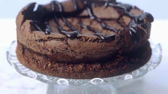 Rezept: Schokoladenkuchen ohne Mehl