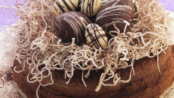 Rezept: Schokoladenkuchen zu Ostern