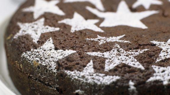 Rezept: Schokoladenkuchen zu Weihnachten