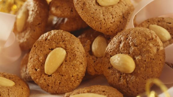 Rezept: Schokoladenmakronen mit Mandeln