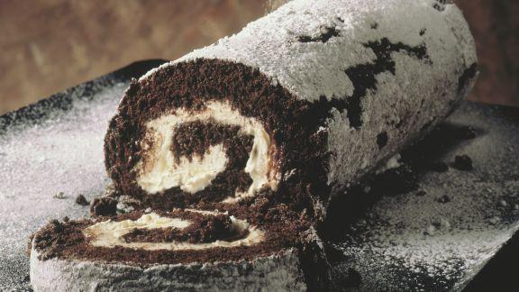 Rezept: Schokoladenroulade
