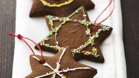 Rezept: Schokoladensterne zu Weihnachten