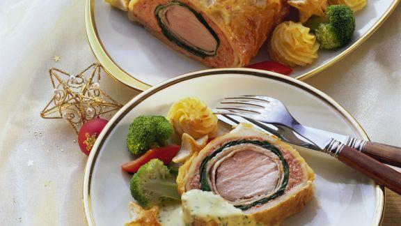 Rezept: Schweinefilet Wellington