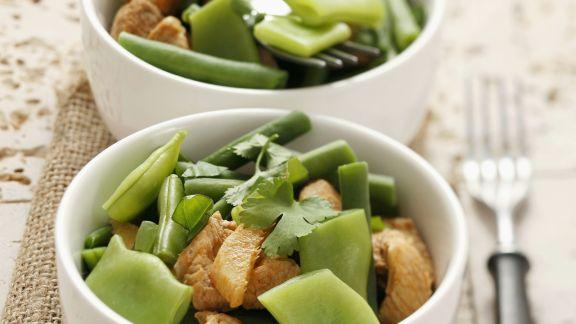 Rezept: Schweinefleischragout mit grünen Bohnen