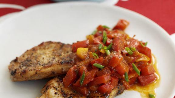 Rezept: Schweinekoteletts vom Grill im karibischen Stil