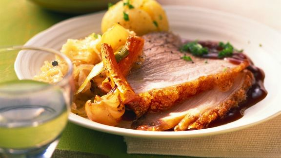 Rezept: Schweinekrustenbraten
