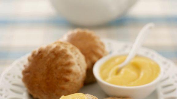 Rezept: Scones und Lemoncurd