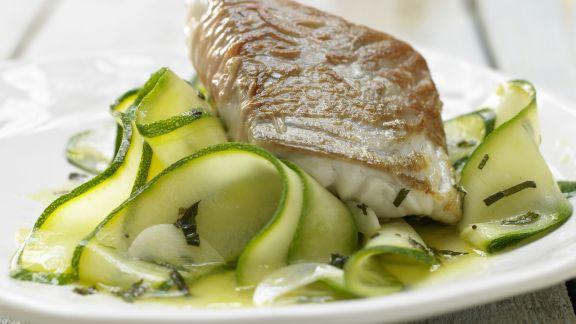 Rezept: Seelachs im Parma-Mantel