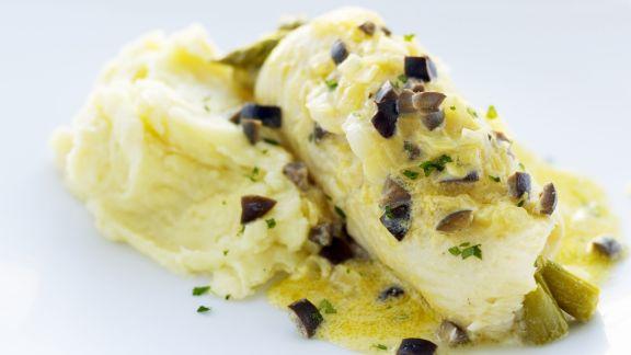 Rezept: Seezunge mit Olivensoße