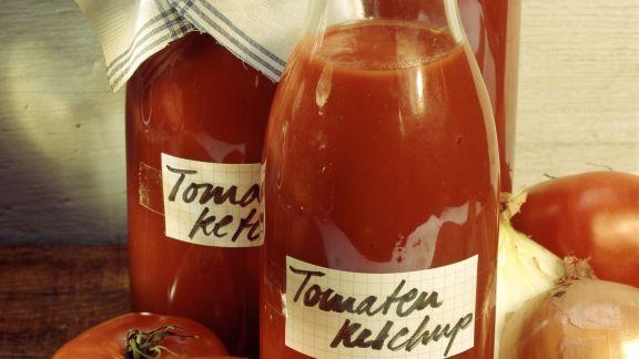 Rezept: Selbstgemachtes Tomatenketchup