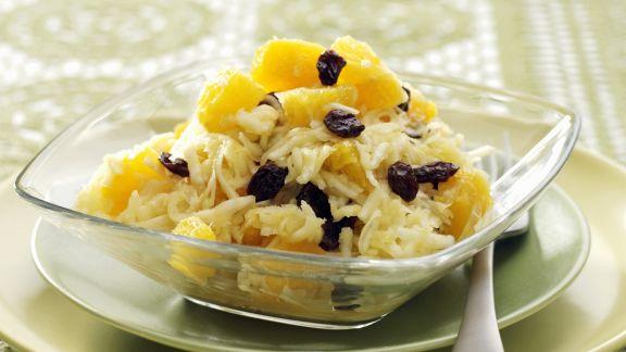 Rezept: Selleriesalat mit Orangen und Sultaninen