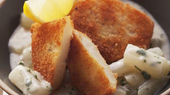 Rezept: Sellerieschnitzel in Panade