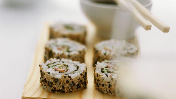 Rezept: Sesam-Sushi
