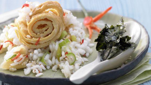 Rezept: Sesam-Sushi-Reis