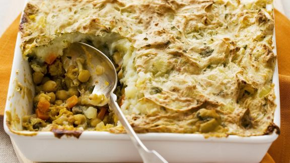 Rezept: Shephards Pie auf vegetarische Art