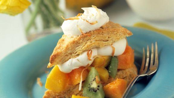 Rezept: Shortcake mit Fruchtfüllung