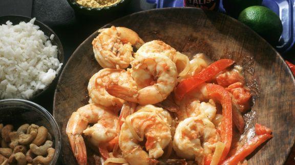 Rezept: Shrimps auf brasilianische Art