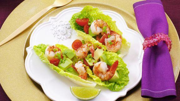 Rezept: Shrimps-Cocktail mit Avocado