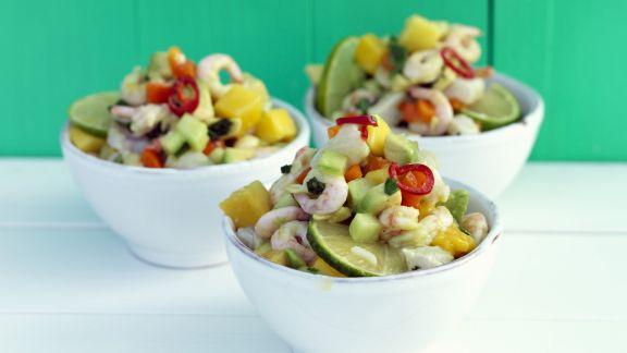 Rezept: Shrimpssalat