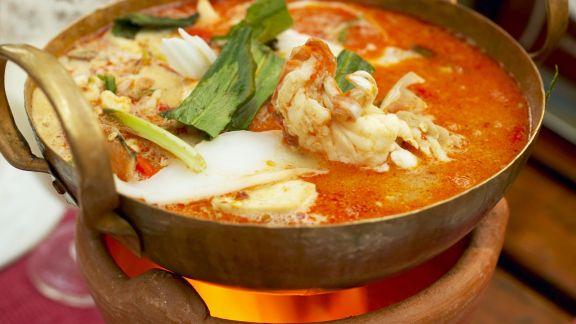 Rezept: Shrimpssuppe auf thailändische Art