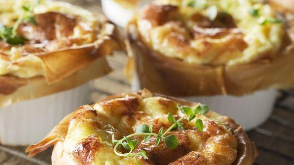 Rezept: Soufflee mit Kartoffeln