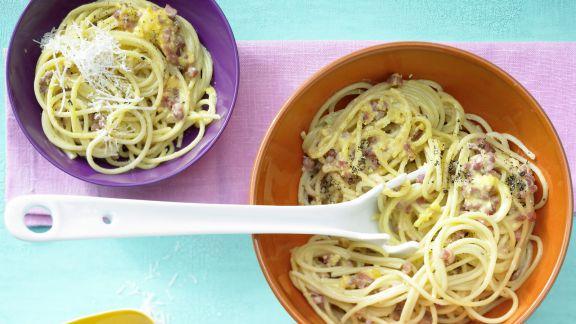 Rezept: Spaghetti à la Carbonara