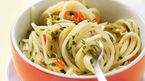 Rezept: Spaghetti aglio e olio